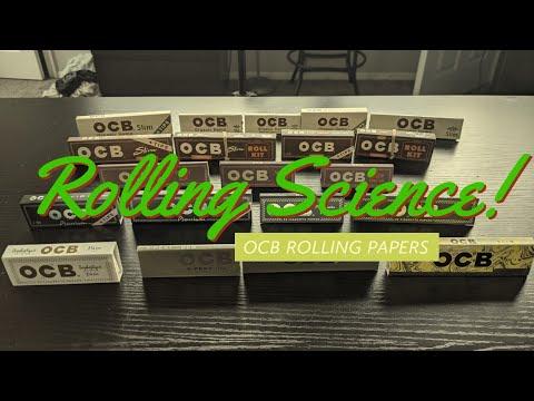 Rolling Paper Science! | OCB rolling paper comparison