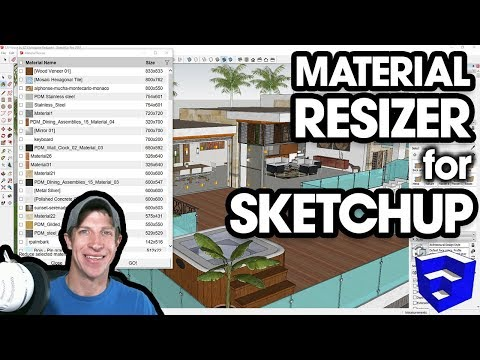 Material Resizer for SketchUp