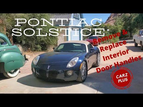 Pontiac Solstice Saturn Sky Interior Door Handle Replacement