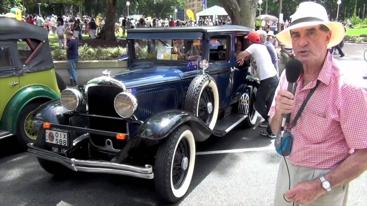 Vintage Cars And Clic At Motorfest 2017 Sydney Australia You