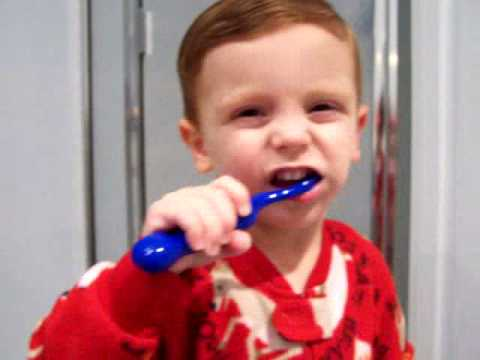Teeth Brushing Toddler