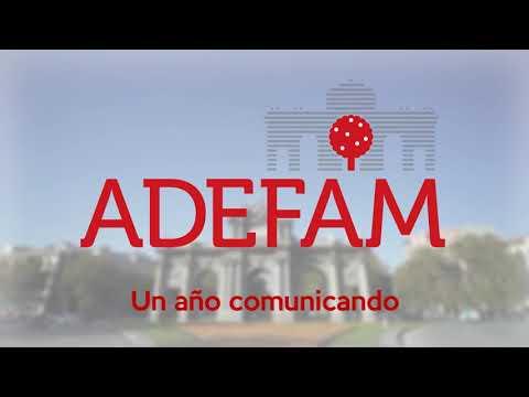 ADEFAM: 1 año comunicando, 22 6 2021