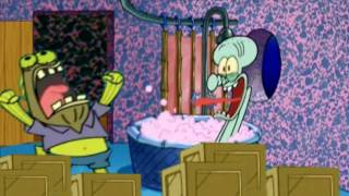 The Chocolate Guy visits Squidward