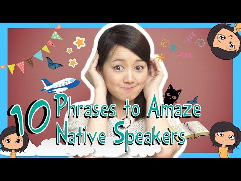 Learn 10 Japanese Phrases to Amaze Native Speakers (Việt Sub)