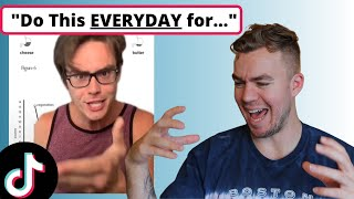 Fitness Coach Reacts To Weight Loss Advice on TikTok