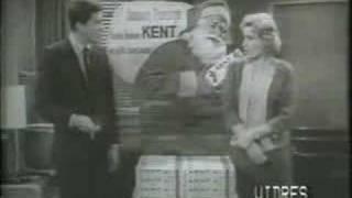 Dick Van Dyke Show cast for Kent Cigarettes (Santa)
