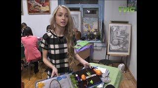 Тактильные книги, изготовленные школьниками, передадут в областную библиотеку для слепых