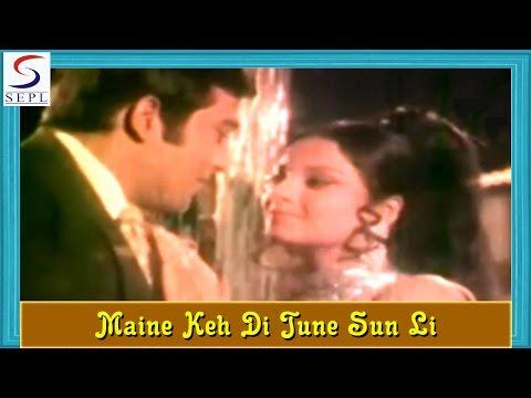 Maine Keh Di Tune Sun Li - Love Song - Lata Mangeshkar @ Ek Bechara - Jeetendra, Rekha, Vinod Khanna