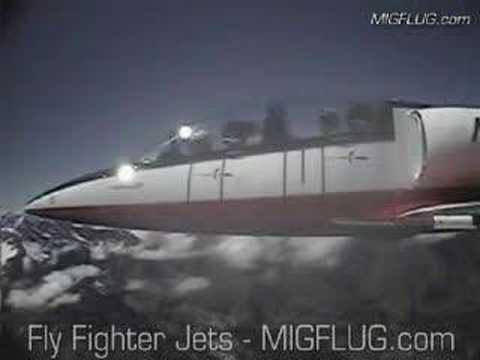 Fighter Jet Flight in Switzerland - MiGFlug.com