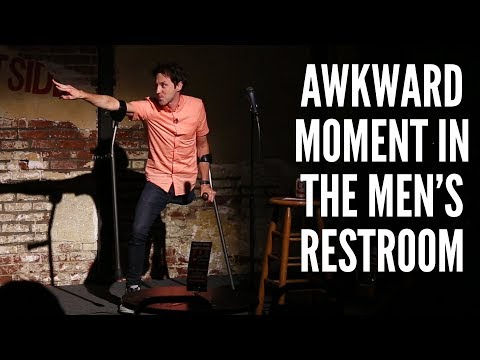 Awkward Moment in the Men's Restroom