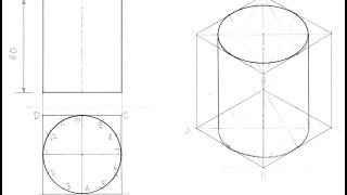 Video 4.7a-Drawing Isometric View of a Cylinder download MP3, 3GP, MP4, WEBM, AVI, FLV Juli 2018