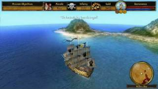 Buccaneer - The Pursuit of Infamy...Single Player Gameplay.
