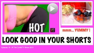How To Get Sexy Hot Pants Legs Workout + Low Fat Healthy Breakfast Recipe Ep19