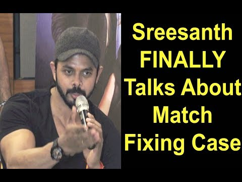 Sreesanth Latest Interview 2017 On His Match Fixing Case