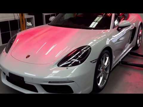 Paint Protection Melbourne - Car Detailing Correction Porsche Cayman 718