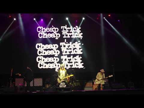 Cheap Trick - Hello There - Pedreira Paulo Leminski, Curitiba, Brasil, 12.12.2017