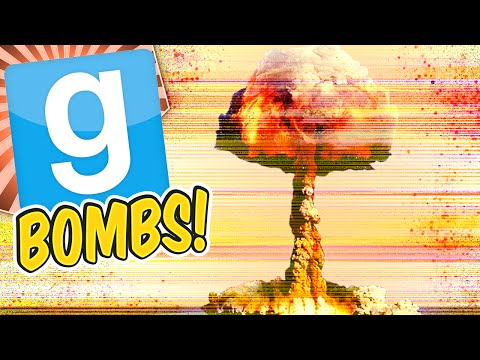 Gmod Bombs - How To Destroy A Server (Garry's Mod Sandbox Funny Moments)