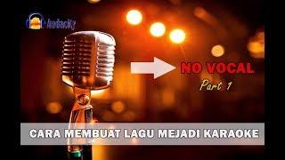 Cara Membuang Vokal Lagu Di Mp3 Menggunakan Audacity (Part 1)