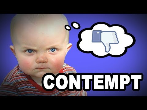 Learn English Words: CONTEMPT - Meaning, Vocabulary with Pictures and Examples