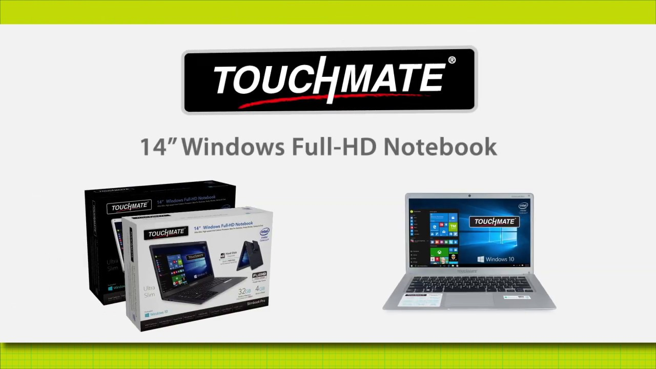 Touchmate 14 Windows Full Hd Notebook Tm Nb148t Youtube
