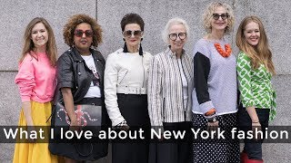 New York fashion for women over 40 - what I love about New York fashion