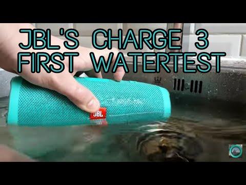 JBL CHARGE 3 Short WATERTEST & Soundtest#1