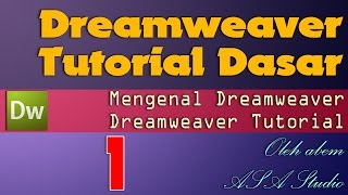Dreamweaver Video Tutorial Paket Dasar
