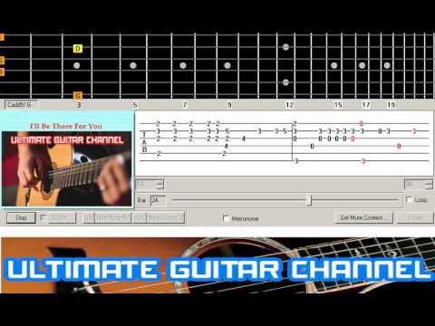 Guitar Solo Tab] I\'ll Be There For You (Bon Jovi) - YouTube