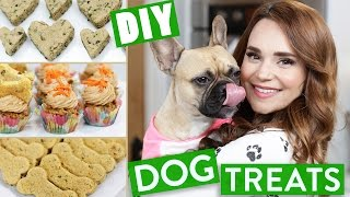 DIY DOG TREATS!