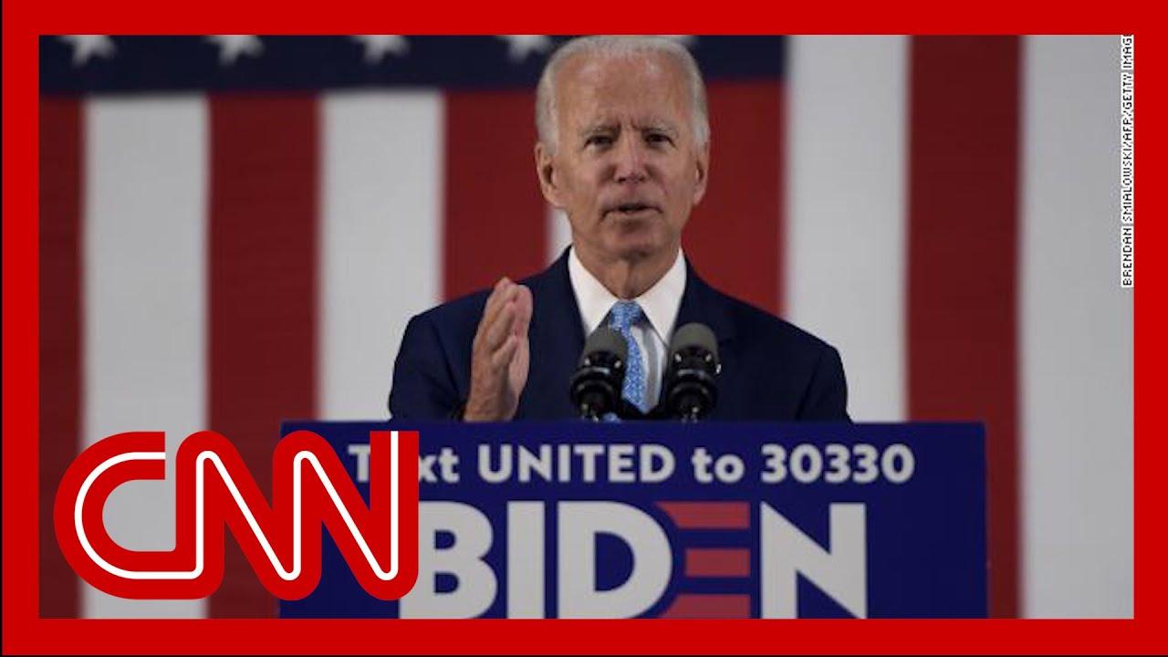 Biden on Trump: Our wartime president has surrendered
