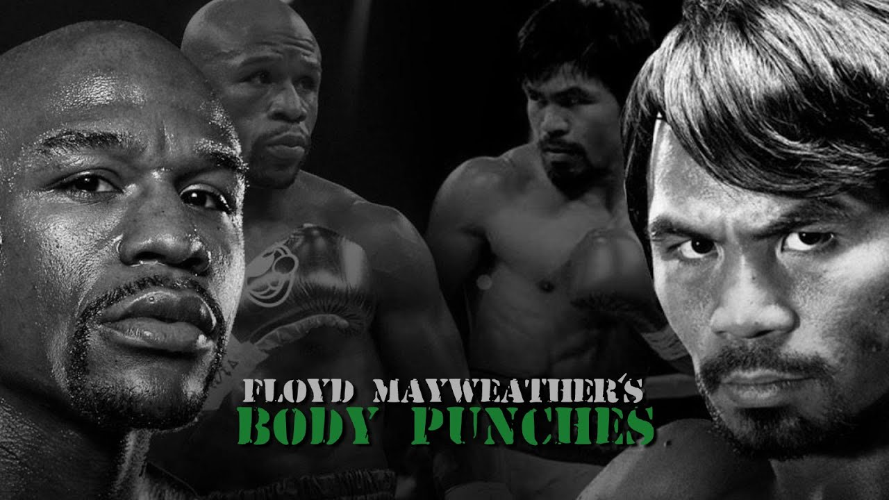 Mayweather vs Pacquiao: Floyd\'s Body Punching - YouTube