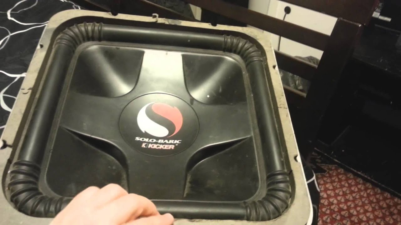 maxresdefault subwoofer encounter with a kicker solo baric l7 youtube
