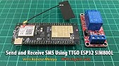 ESP32 Publish Data to Cloud without Wi-Fi (TTGO T-Call ESP32