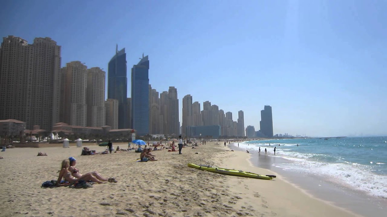 Dubai Marina Beach - Arab Emirates 2013