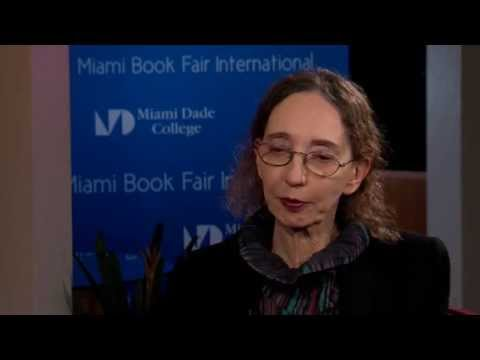 Joyce Carol Oates Interview at 2014 Miami Book Fair