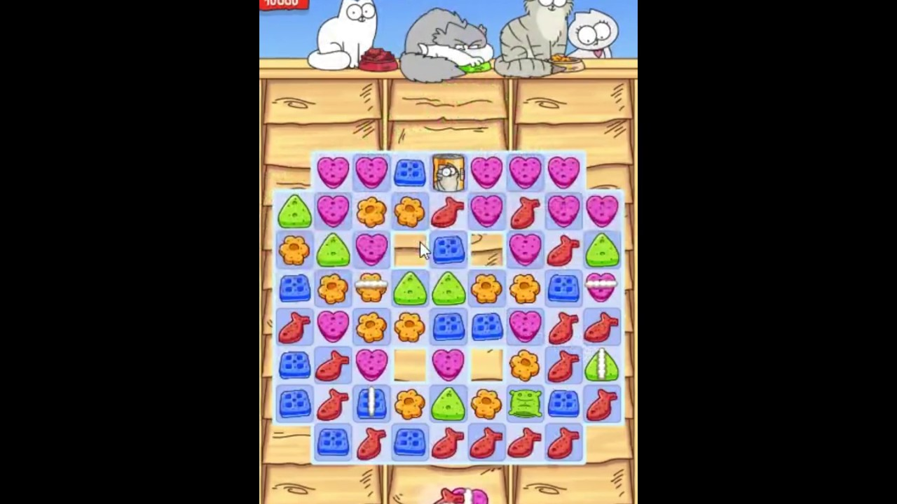 Simon S Cat Crunch Time Boosters