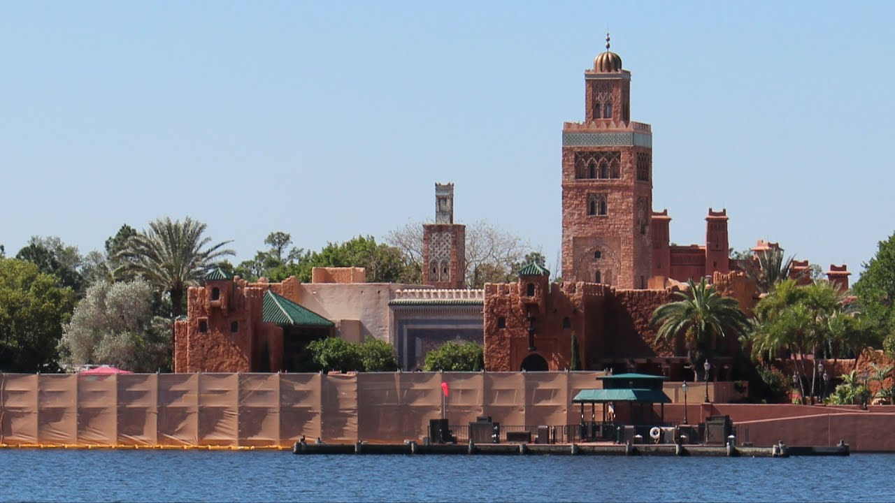 Epcot Morocco Pavilion Readying For Spice Road Table