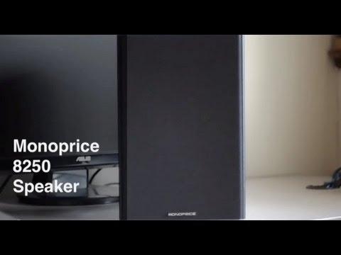 Monoprice 8250 Speaker Review