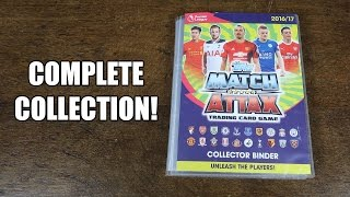 COMPLETE COLLECTION! Match Attax 2016/17