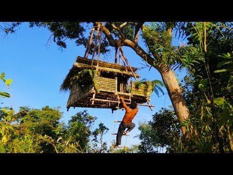 Làm Nhà Trên Cây Ở Trong Rừng Cực Kỳ Độc Đáo
