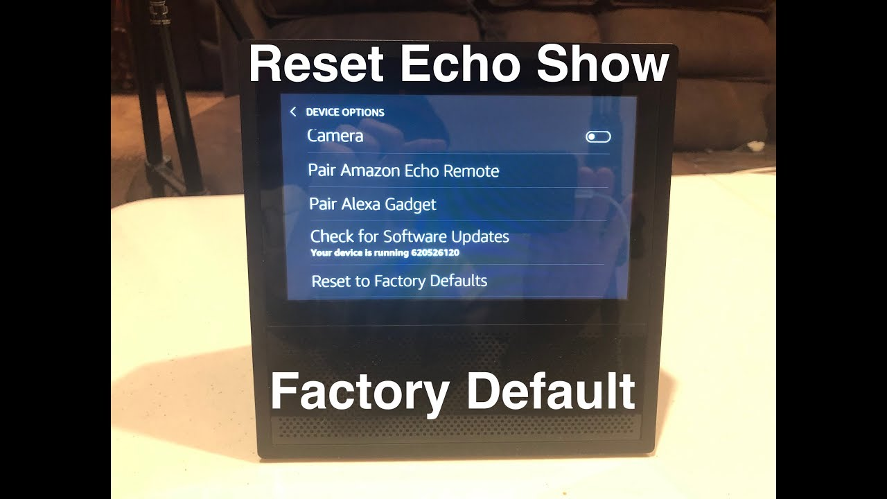 How to change pictures on alexa show