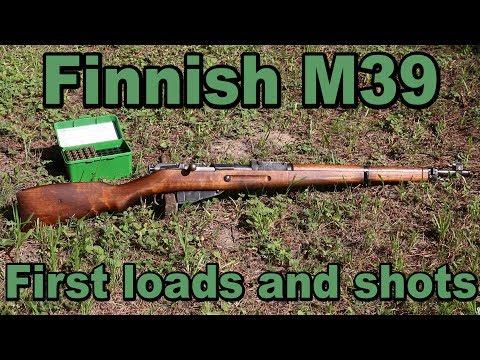 7.62x54R - ep 7 - Finnish M39 first shots