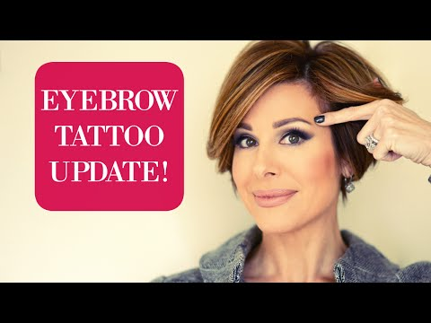 Eyebrow Tattoo Update & Second Treatment Results!