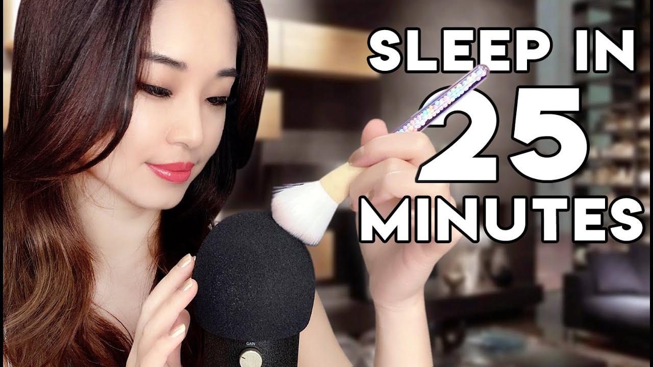 [ASMR] Guaranteed Sleep in 25 Minutes ~ Soft Sounds