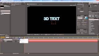 After Effects. Quick Tip. Вращение камеры по дуге вокруг объекта