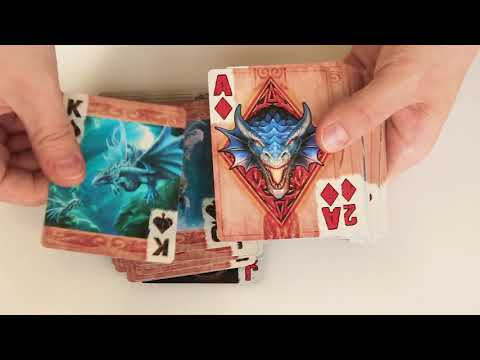 Bicycle Cards Age Of Dragons (Anne Stokes) - Deck Review
