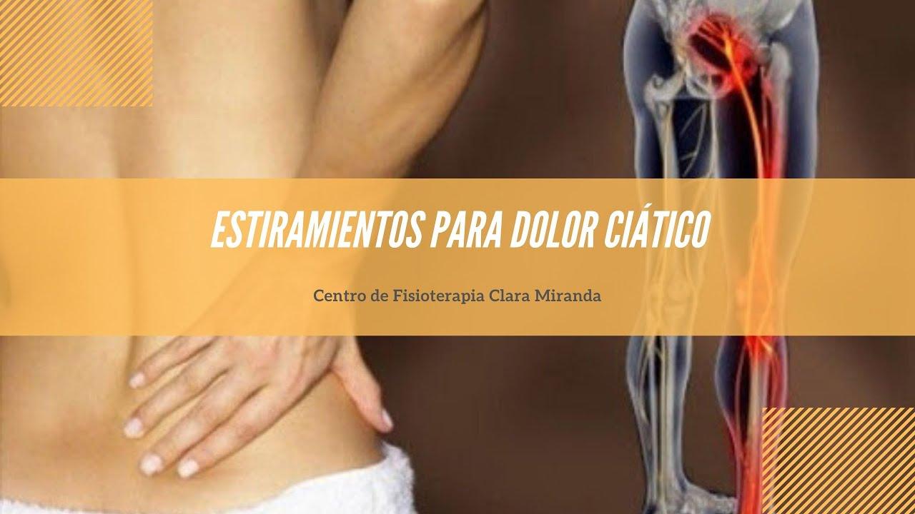 Estiramientos para dolor ciático