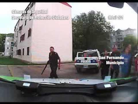 Gracias a las patrullas y cámaras de Protección Ciudadana se frustró un escape en un auto robado