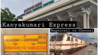 Kanyakumari Express   Nagercoil to Chennai   Tamil Travel Review   PART 1   Indian Railways Thumb