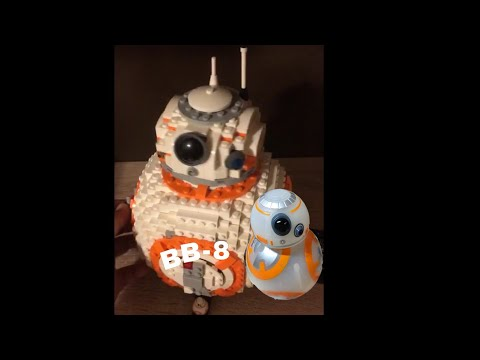 GIGANTIC BB-8 LEGO MODEL!!!